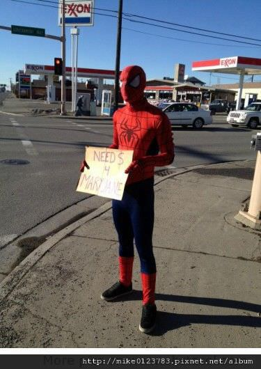 Spiderman-Need-money-for-Mary-Jane