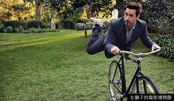 小勞勃道尼 腳踏車