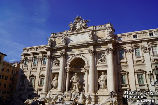 [看電影玩世界] 義大利羅馬:特萊維噴泉 與 四神噴泉 電影一直出現的愛情許願池
