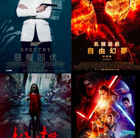 最近有什麼好看的電影阿~? 2015月 11-12月 推薦清單