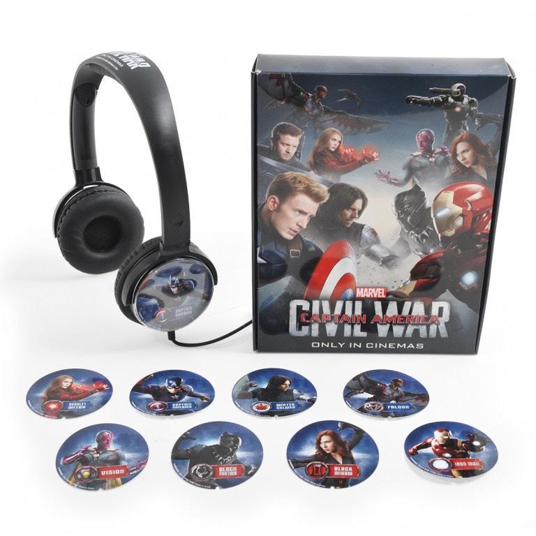 美隊3 耳機